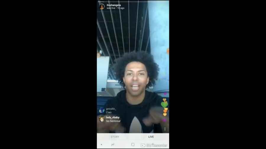 ジャスミンに色々悪口言われたシャンジェラが動画を配信!